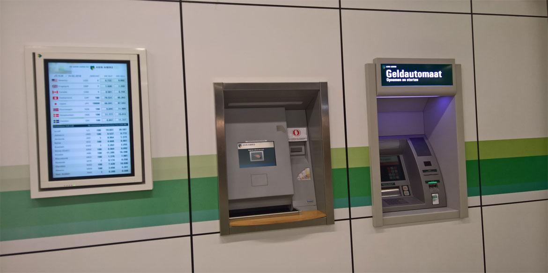 Verdwijnt de geldautomaat?