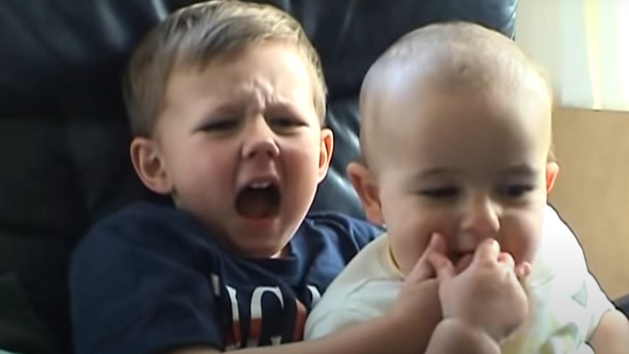 'Charlie bit my finger' verdwijnt van YouTube na veiling